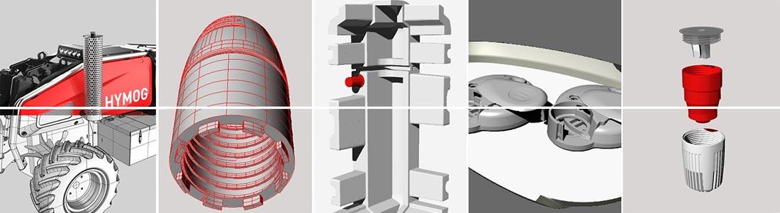 Beispiele Bauteil Konstruktion von Keiko