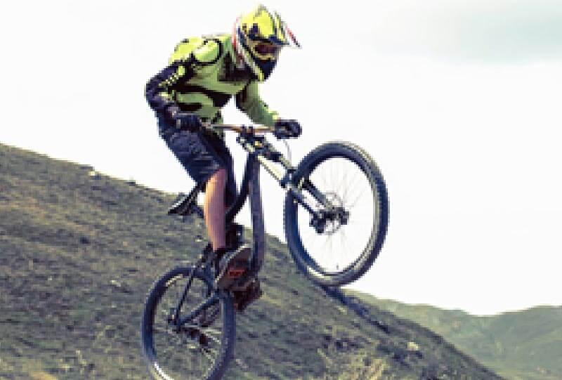 Fahrrad mit Carbonteilen