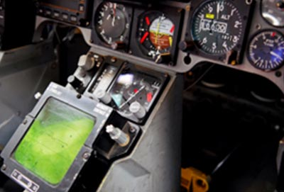 Cock-Pit eines Flugzeuges mit Polyurethan Komponenten von Keiko