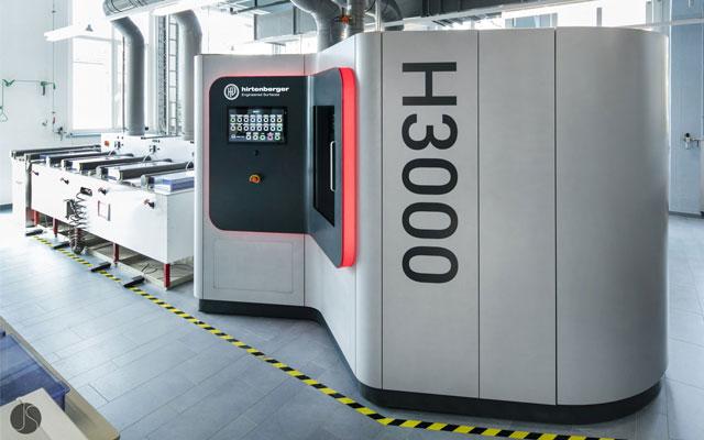 H3000 Display & Maschinenverkleidung