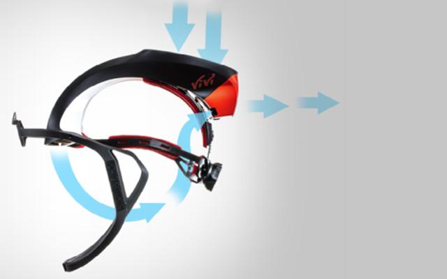 VIVI ™ - SYSTEM - OP HELM Produktfoto