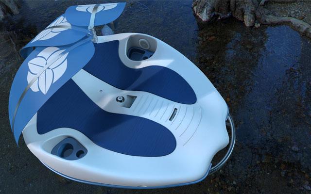 Chilli Island Relax-Elektroboot Prototyp von Keiko