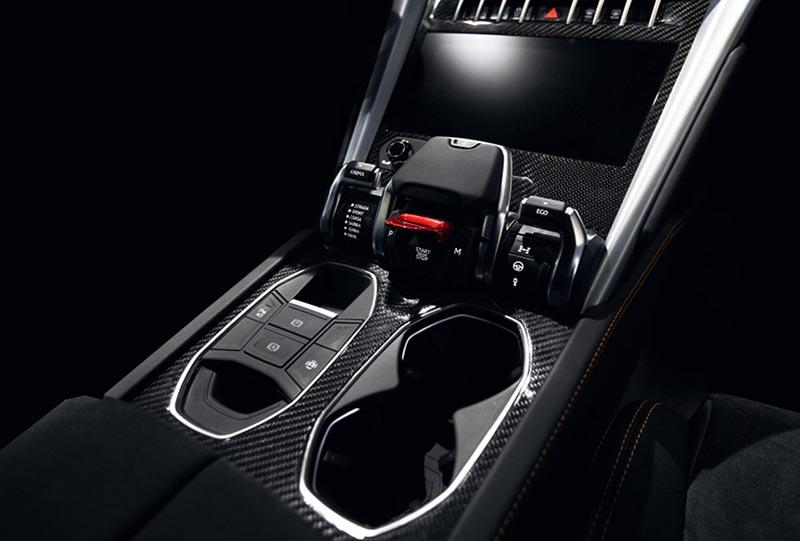 Carbonteile für Auto Innenraum