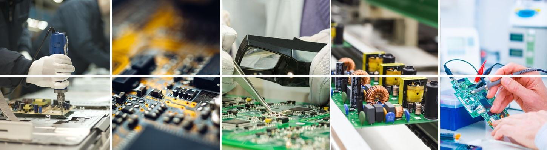 Beispiele der Elektronikverarbeitung von Keiko
