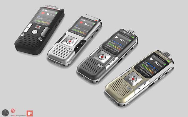 Voice Tracer Modelle für Philips Austria AG